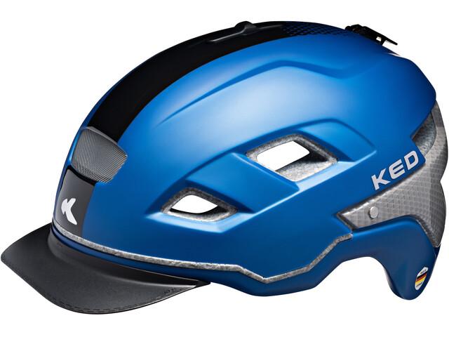 KED Berlin Helmet Blue Black